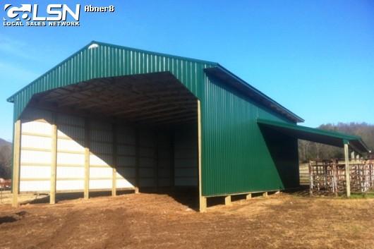 40x60x15, Hay Barn.Pole Barn in Monterey, TN